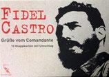Fidel Castro - Grüsse vom Comandante. 10 Postkarten (Klappkarten, 4 Motive in Kartonbox)