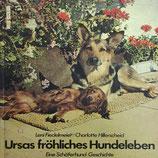 Fiedelmeier Leni, Ursas fröhliches Hundeleben - Eine Schäferhund-Geschichte (antiquarisch)