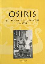 Osiris - Zeitschrift für Literatur 5/1998