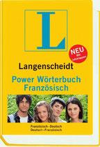 Langenscheidt Power Wörterbuch Französisch-Deutsch / Deutsch-Französisch