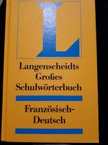 Langenscheidts Grosses Schulwörterbuch Französisch-Deutsch (antiquarisch)