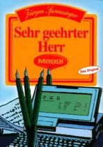 Sprenzinger Jürgen, Sehr geehrter Herr Maggi