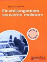 Horst H. Siewert, Einstellungstests souverän meistern