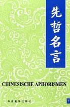 Chinesische Aphorismen (antiquarisch)