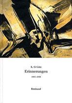 Götz K. O., Erinnerungen 1945-1959 (antiquarisch)