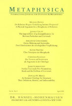 Sahlin Nils-Eric, Metaphysica. International Journal for Ontology & Metaphysics/Ramsey's Ontology (englisch)