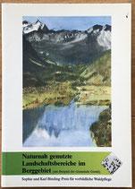 Naturnah genutzte Landschaftsbereiche im Berggebiet - am Beispiel der Gemeinide Giswil (antiquarisch)