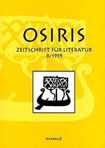 Osiris - Zeitschrift für Literatur 8/1999