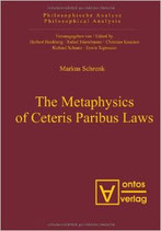 Markus Schrenk, The Metaphysics of Ceteris Paribus Laws