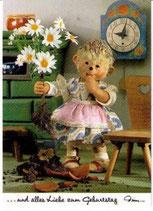 Mecki Ansichskarte - ... und alles Liebe zum Geburtstag (m514)