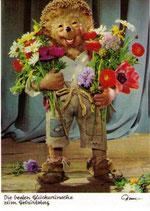Mecki Ansichtskarte - Die besten Glückwünsche zum Geburtstag (m302)