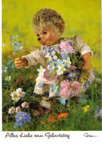 Mecki Ansichtskarte - Alles Liebe zum Geburtstag (m511)