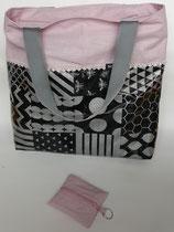 Shoppingtasche aus Wachstuch