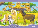 Eine liebevolle Pferdefamilie - Pop up Buch (antiquarisch)