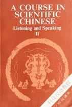 Du Houwen, A Course in Scientific Chinese - Listening & Speaking vol.2  (antiquarisch)