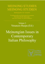 Rasa Venanzio, Meinongian Issues in Contemporary Italian Philosophy (Meinong, Studies/Meinong Studien, Band 2) (Englisch)