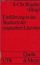 Rojahn J.-Chr., Einführung in das Studium der englischen Literatur (antiquarisch)