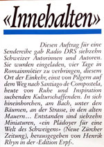 Rhyn Robert (Hrsg), Innehalten