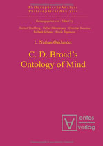 Oaklander Nathan L., C. D. Broad's Ontology of Mind
