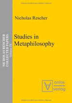 Rescher Nicholas, Studies in Metaphilosophy