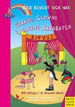 Zirkus, Clowns und kleine Akrobaten - Hier bewegt sich was (antiquarisch)