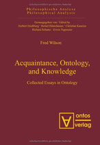 Fred Wilson, Acquaintance, Ontology, and Knowledge