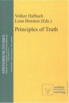Halbach Volker, Principles of Truth (englisch)