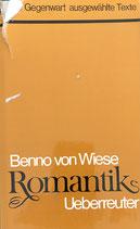 Wiese Benno von, Romantik - Für die Gegenwart ausgewählte Texte (antiquarisch)