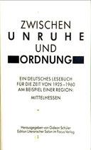 Schüler Georg, Zwischen Unruhe und Ordnung (antiquarisch)