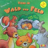 Kennst du? Tiere in Wald und Feld - Pappebuch mit Klappen