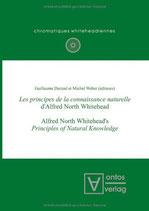 Guillaume Durand et Michel Weber, Les principes de la connaissance naturelle d'Alfred North Whitehead