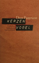 Don Paterson, Kerzenvogel - Gedichte (antiquarisch)