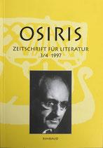 Osiris - Zeitschrift für Literatur 3/4 1997