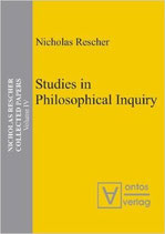 Rescher Nicholas, Studies in Philosophical Inquiry