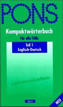 PONS Kompaktwörterbuch für alle Fälle - Englisch-Deutsch