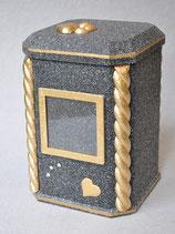 Modell: Nr.: 15 - Granit / schwarz - Rustikal