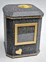 Modell: Nr.: 18 - Achteck / Granit - schwarz