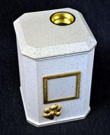 Modell: Nr.: 1 - Achteck / Granit weiß