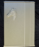 Pferdeurne Nr.2 in Granitoptik , Material MDF