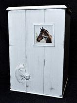 Pferdeurne Nr. 8 Landhaus-Style mit Wechselrahmen