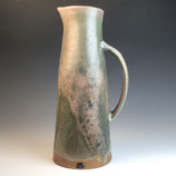 Copper surprise wood-fired pitcher
