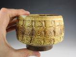 tiled tea bowl