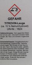 Titrovin - Lauge 250 ml