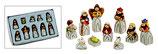 Krippenfiguren Miniatur 10-teilig