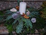 Gutschein für Adventsgesteck Basteln
