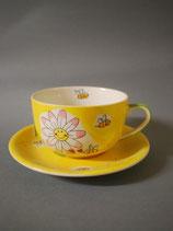 Tasse Sonnenblume 2-tlg
