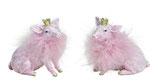 Schwein mit Glitzer
