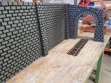 Art.-Nr. 17.200 Tunnelportal RhB mit links abfallendender Schräge