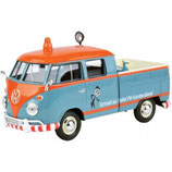Art.Nr. 16.345 VOLKSWAGEN T1b VW Kundendienst mit Blinklicht/ Service, Blau/Orange