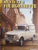 Art.Nr. 16.301 Renault 4  Fourgonette Bausatz